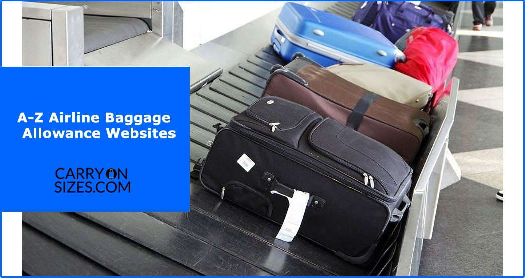 A-Z-Airline-Baggage-Websites
