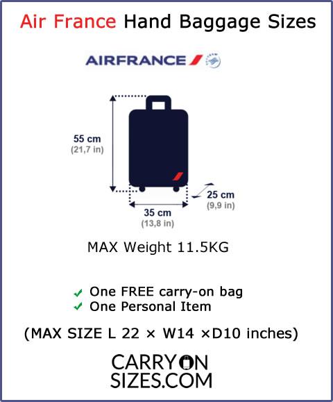 Air-France-Hand-Baggage-allowances