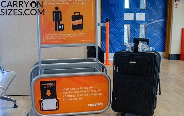 EasyJet-baggage-allowance-checker